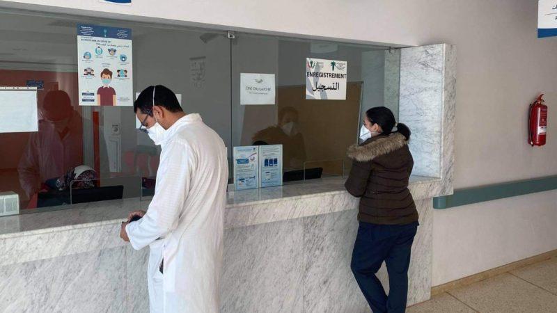 انطلاق عملية تلقيح ضد فيروس كورونا المستجد في صفوف جميع موظفي المركز الاستشفائي الجامعي محمد السادس مراكش