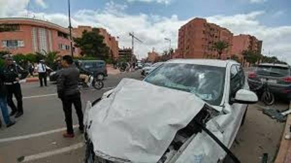 مصرع 19 شخصا وإصابة 1904 آخرين في حوادث سير بالمدن المغربية خلال أسبوع