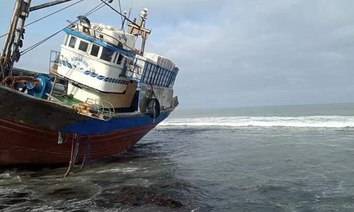 """قبطانية ميناء أسفي تنذر بطقس عاصف ومهنيو الصيد  يتوجسون من ظاهرة """" الرص"""""""