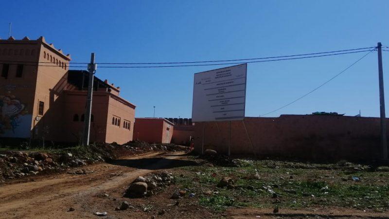 الشروع في بناء المقر الجديد لبلدية تحناوت