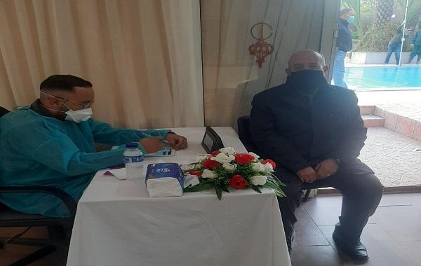 انطلاق حملة التلقيح في صفوف أطر جامعة القاضي عياض بمراكش