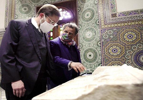 الدبلوماسي الأمريكي دافيد جرين يزور متحف دار الباشا بمراكش
