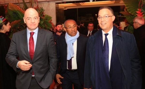 """رئيس """"الفيفا"""" يحل بالمغرب منتصف الأسبوع المقبل"""