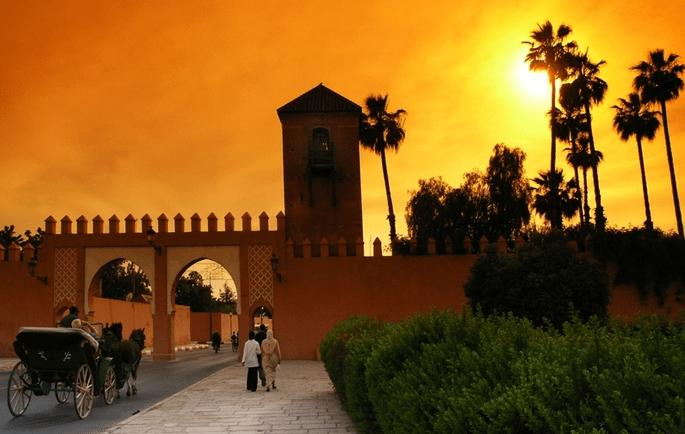 مراكش ضمن قائمة 10 مدن الأكثر رومانسية في العالم