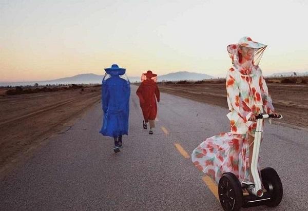 رحلة تصويرية حول العالم من لوس أنجلوس إلى مراكش في حملة العلامة التجارية كنزو