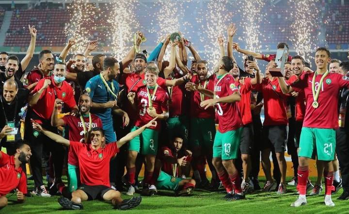 المنتخب المغربي يرتقي إلى المركز 33 في التصنيف العالمي