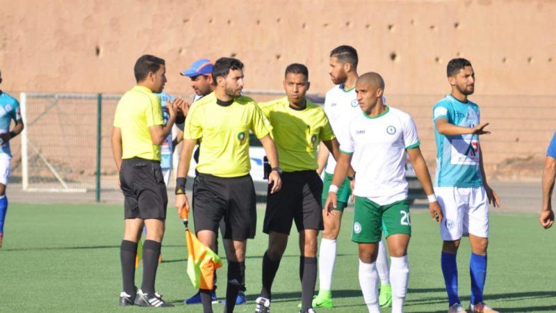 عصبة الهواة تمنح مولودية مراكش النقاط الثلاث في مباراة شباب هوارة