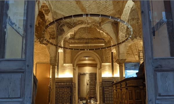 أشغال صيانة داخل مطعم في مدينة إشبيلية تقود لاكتشاف حمام تقليدي من عهد الموحدين