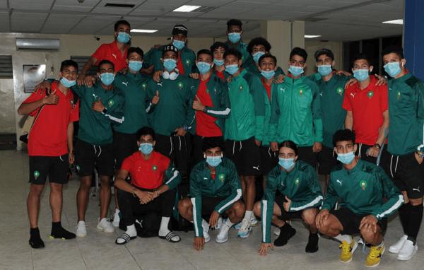 المنتخب المغربي للشبان يحط الرحال بموريتانيا للمشاركة في كأس افريقيا