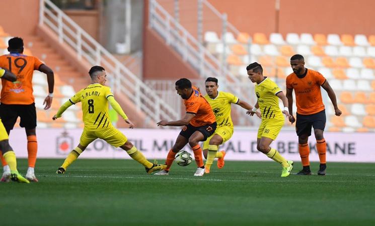 المغرب الفاسي يتأهل الى ربع نهائي كأس العرش على حساب نهضة بركان في مباراة تحبس الأنفاس