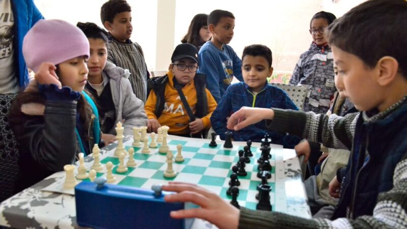 طفلة بأمزميز تفوز ببطولة الشطرنج