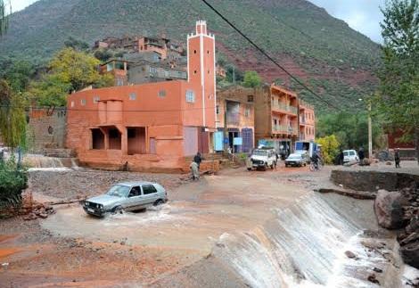 إقليم الحوز..حملات فيضانية دون أن تخلف أي خسائر