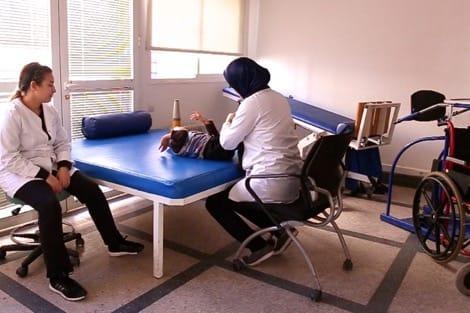 تأهيل مركز الترويض الطبي بمستشفى محمد السادس بتحناوت