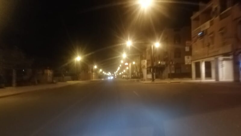 حملات أمنية لتشديد إجراءات الإغلاق الليلي بتحناوت