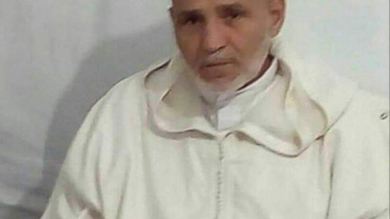 الحاج عبد القادر حسونة خطيب مسجد  العيادي بالعزوزية بمراكش في ذمة الله