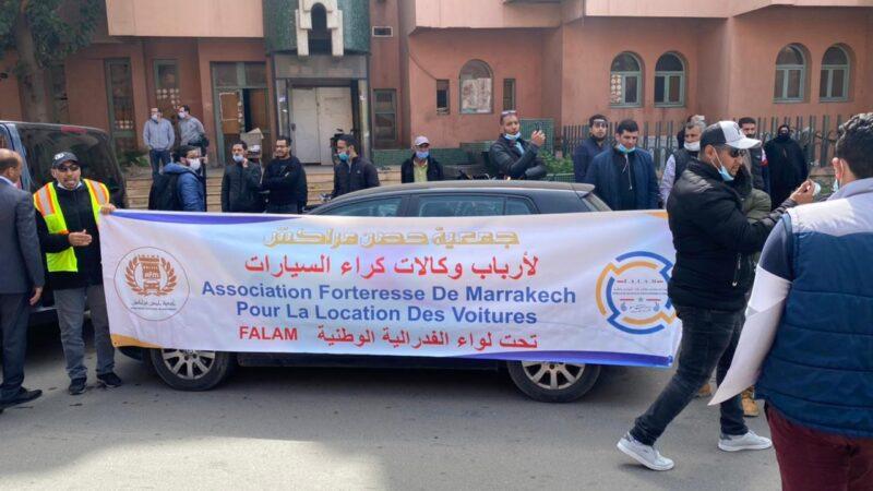 جمعية حصن لأرباب وكالات كراء السيارات تنخرط في احتجاجات مهنيي النقل السياحي