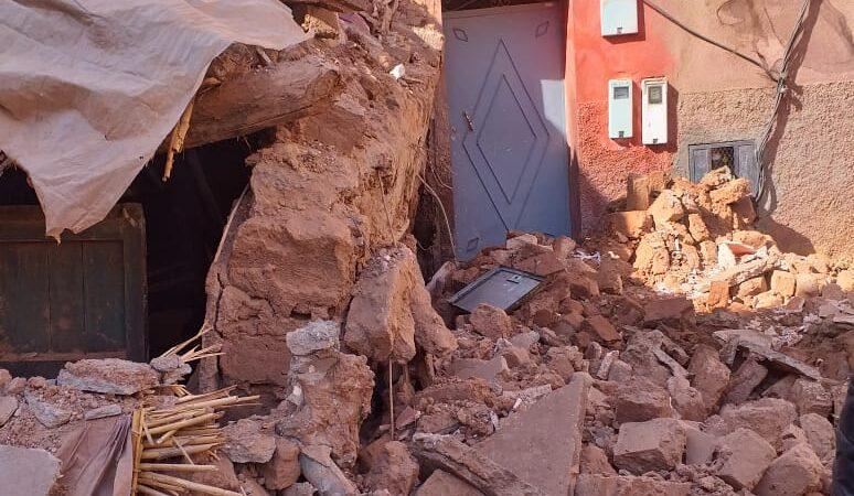 انهيار منزل في حي إزيكي دون تسجيل خسائر بشرية