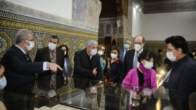 افتتاح معرض بمتحف الروافد بدار