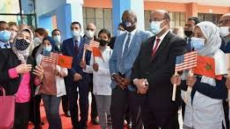 """المغرب – الولايات المتحدة .. تتبع سير مشروع """"التعليم الثانوي"""" بمراكش"""