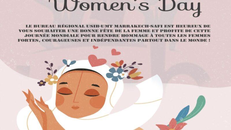المكتب الجهوي للابناك، الاتحاد المغربي للشغل يهنئ المرأة البنكية بعيدها الأممي
