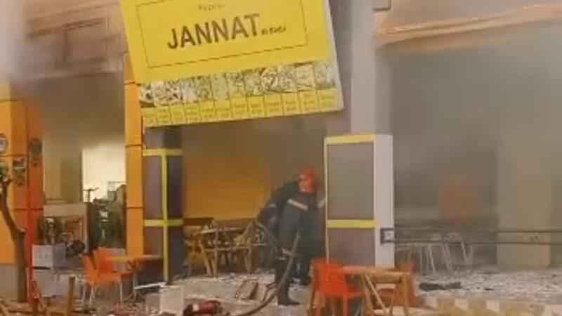 عاجل… اندلاع حريق مهول بمحل لبيع المأكولات بالبديع مراكش