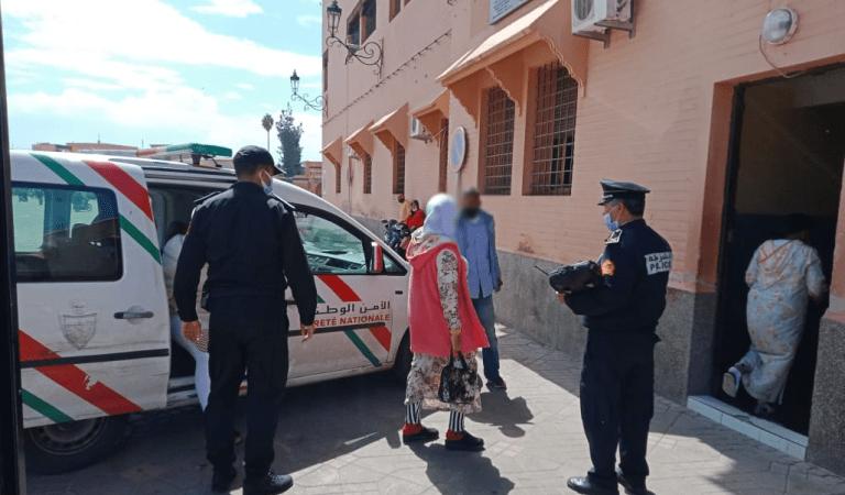 لهذا الأمر تم اعتقال 8 فتيات بساحة جامع الفنا صباح اليوم الأربعاء