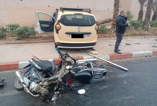 مصرع 13 شخصا وإصابة 2016 آخرين في حوادث سير بالمدن المغربية خلال أسبوع