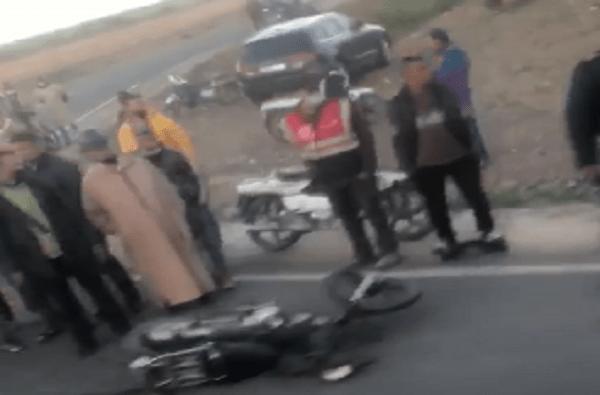 مصرع سائق دراجة نارية على مستوى الطريق الرابط بين مراكش وتحناوت