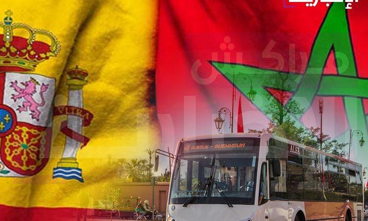 موقف مدريد من القضية الوطنية يدفع بمنتخبين إلى مقاطعة شركة الزا للنقل بمراكش