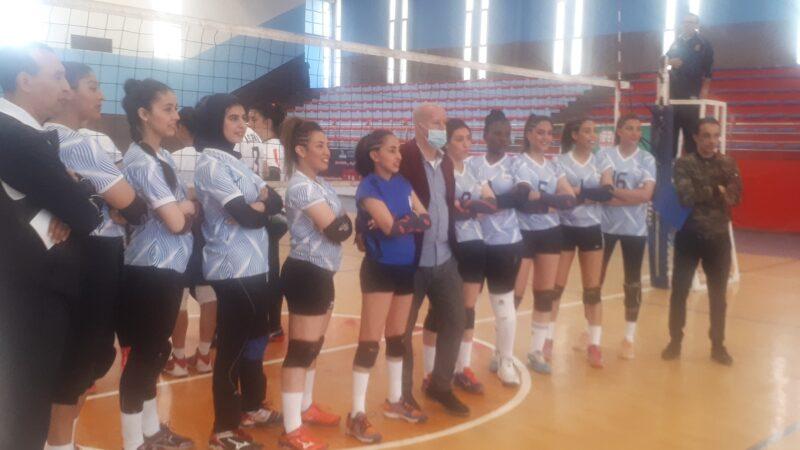 هزيمة إناث نادي أمان مراكش للكرة الطائرة في نصف نهائي بطولة المغرب