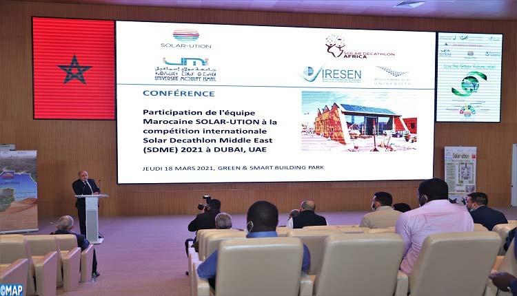 ابن جرير (إقليم الرحامنة) – دعم مشاركة المغرب في ديكاتلون الطاقة الشمسية الشرق الأوسط