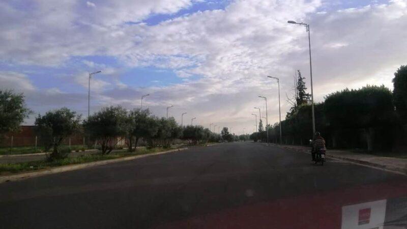 حملة أمنية ضد مخالفي ارتداء الكمامات وسائقي الدراجات النارية في منطقة بوعكاز