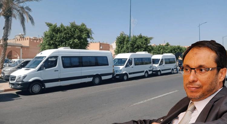 مهنيو النقل السياحي يتهمون الوزير اعمارة بالتخلي عن القطاع
