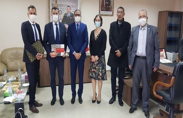 مديرة المعهد الفرنسي بالمغرب في زيارة عمل بمراكش