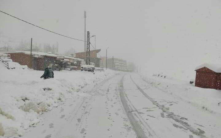 نشرة انذارية..أمطار رعدية وثلوج اليوم الجمعة بعدد من مناطق المملكة