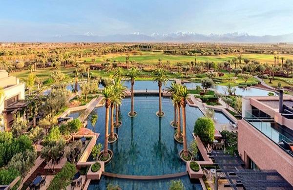 انخفاض أسعار الوحدات السكنية الفاخرة في مراكش خلال سنة 2020