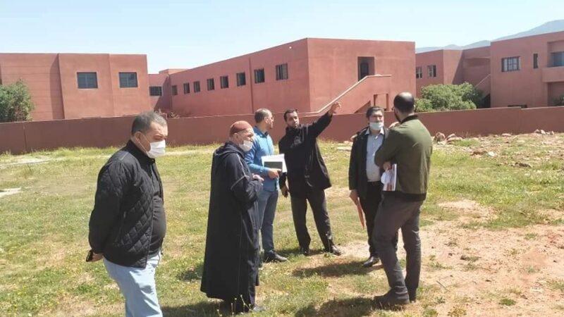 بناء مؤسسة للرعاية الاجتماعية باٍكرفروان لمحاربة الهدر المدرسي