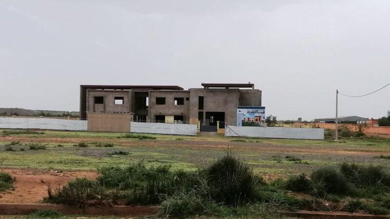 استئناف أشغال بناء مقر جماعة أغواطيم