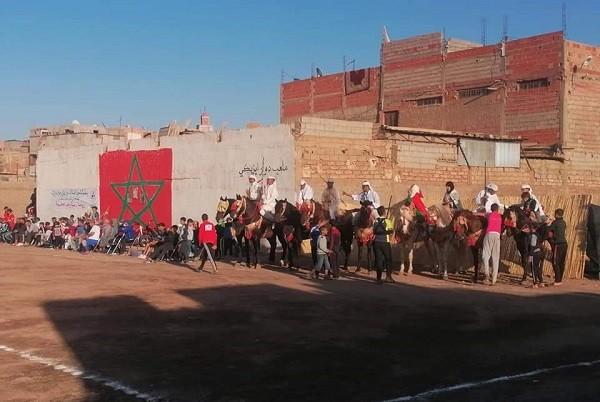 يوم رياضي بدوار ايزيكي احتفالا بمواهب المنطقة