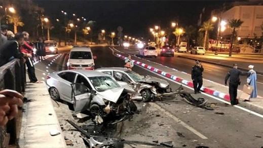 قتلى ومصابين خلال اسبوع  في حوادث السير بالمناطق الحضرية