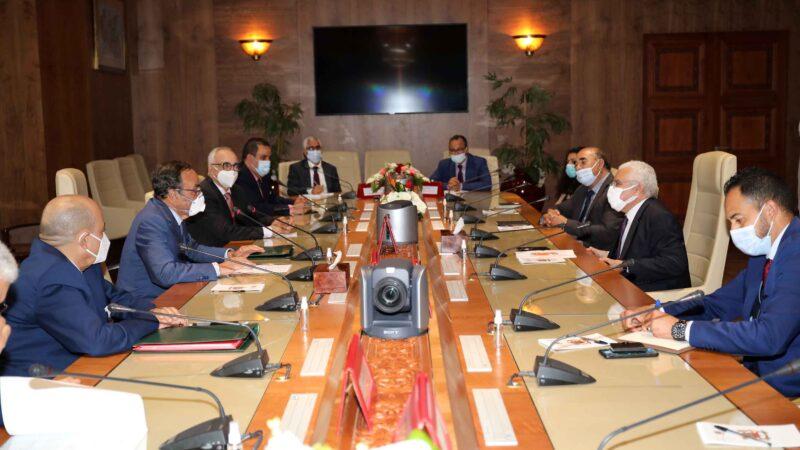 رئيس مجلس النوابومدير مؤسسة أرشيف المغرب يوقعان اتفاقية للشراكة والتعاون بين المؤسستين