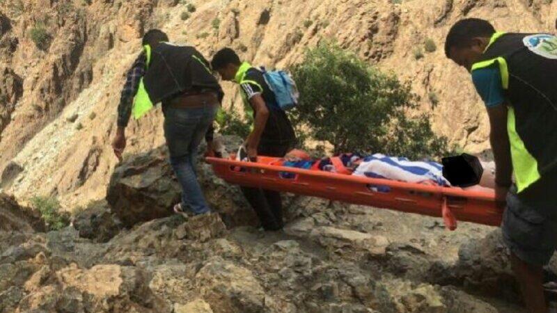 سقوط من أعلى شلالات ستي فاطمة كاد يصرع سائحا مغربيا