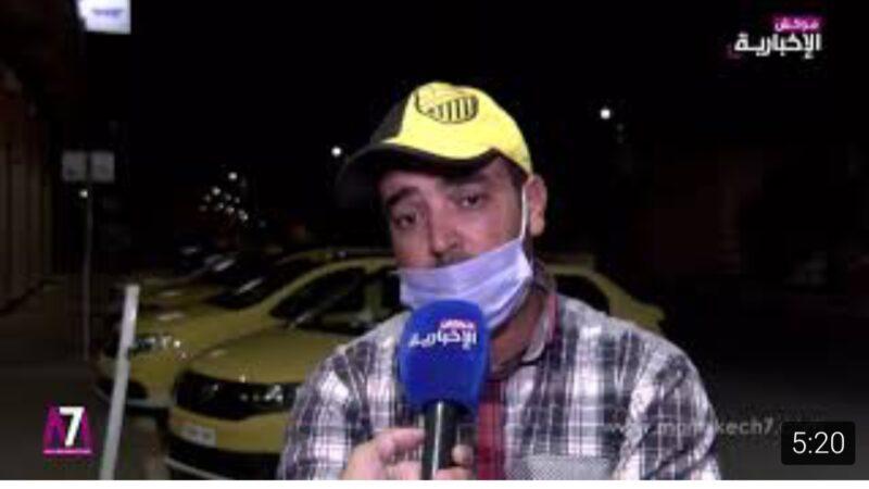 فيديو: سائقو سيارة الأجرة الصغيرة ينتفضون ضد المسؤولين عن القطاع