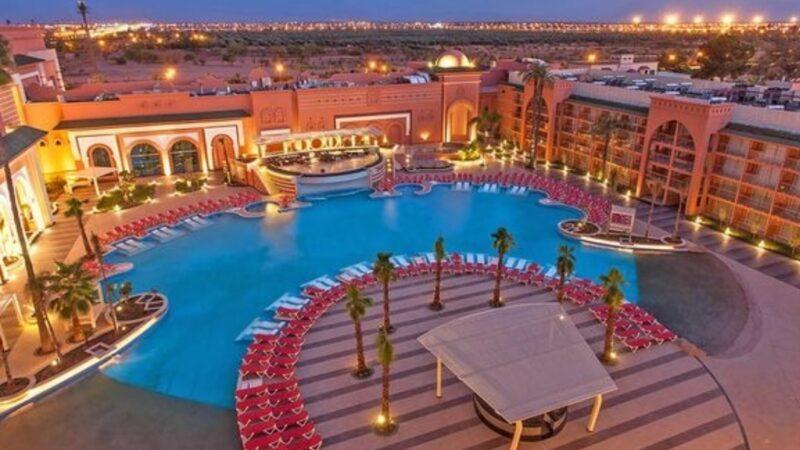 مراكش تسجل أعلى انخفاض في نسبة ملء الفنادق على مستوى القارة الافريقية