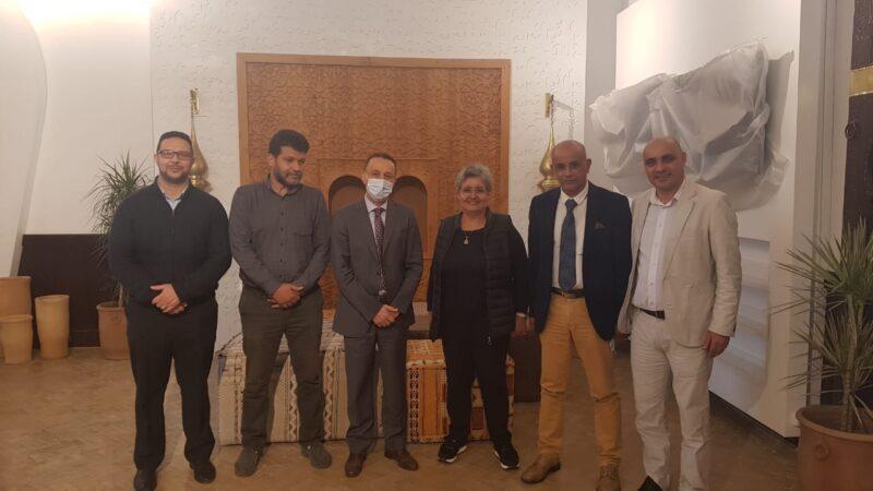 المندوب الجهوي للسياحة بمراكش يستقبل أعضاء الجمعية المغربية للسياحة تحديات وإنجازات لفتح قنوات التعاون المشترك