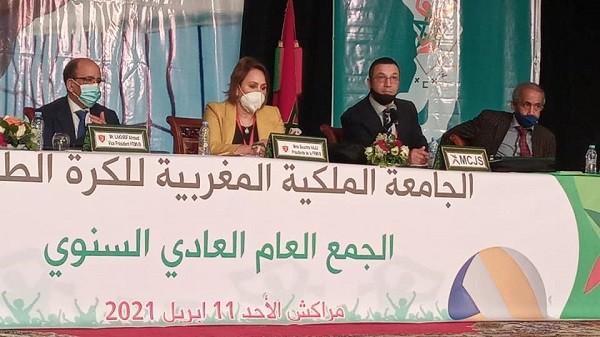 مراكش تحتضن الجمع العام للجامعة الملكية للكرة الطائرة