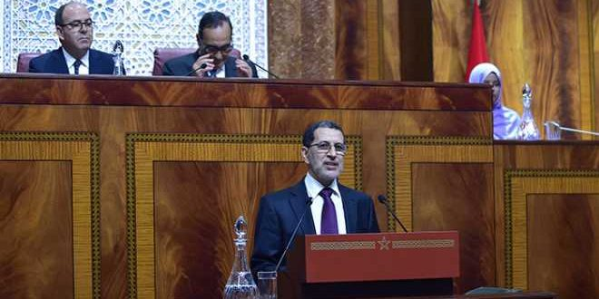رئيس الحكومة أمام غرفتي البرلمان لتقديم  بيانات بشأن الحالة الوبائية بالمغرب في جلسة عامة مشتركة