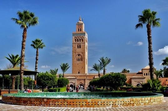 تصنيف مراكش كمنطقة ذات جاذبية عالية للسياح على المستوى الوطني