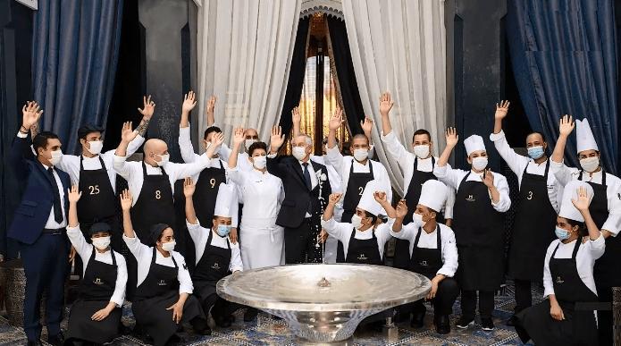 """تتويج الفائزين في النسخة الأولى من مسابقة مطبخ الشارع العالمي لفندق """"رويال منصور"""" مراكش"""