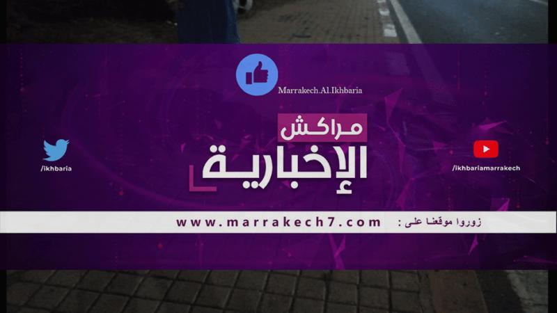 سائق دراجة نارية متهور يتسبب في حادثة سير خطيرة بشارع محمد السادس